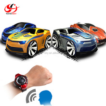 Toysky Promotion Toys 2.4G Voice Control Car Toy Engine Start Smart Watch Remote Control for Kids