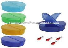 mini round pill case