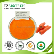 Wholesale Nutritive pure nature dehydrated dried carrot powder