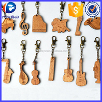 Customized Wooden Musical Instrument Key Holder