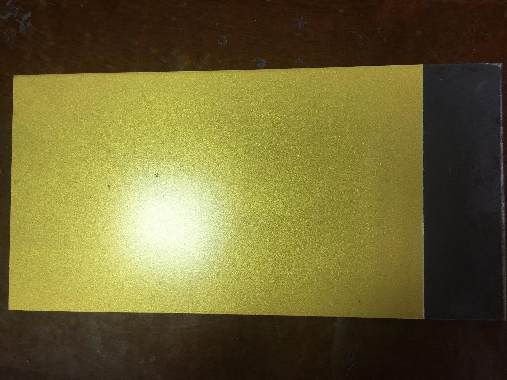 Как сделать цвет краски с золотом