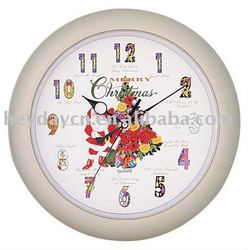 Musical Christmas wall Clock(HY-3200MS-C)