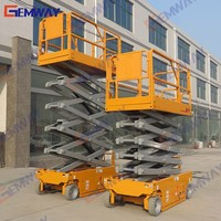 12m Portable aerial hydraulic lift for painting