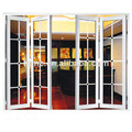 Latest customized aluminum window doors design aluminium folding doors aluminium profile