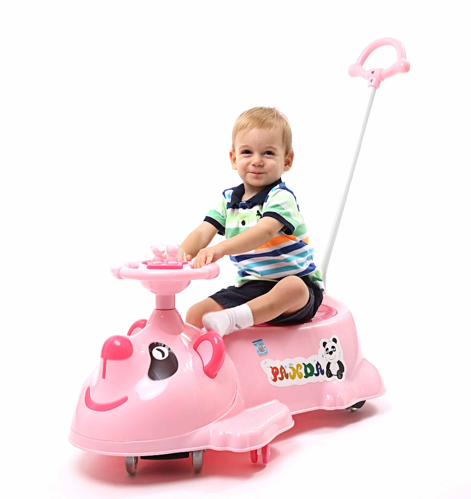 Twist Car Swing Car Large Plastic Ride On Toy Car For Girls