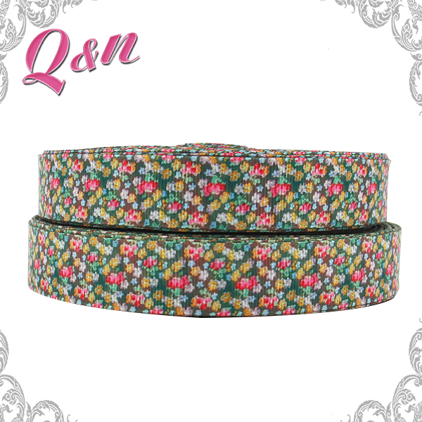 Newest custom printed grosgrain ribbon, wholesale ribbon, ribbon flower