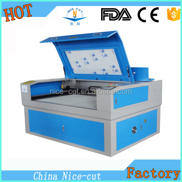 NC-6090 Laser Marking,Metals and partial non-metal materials Application and Yes CNC 100W galvo laser marking engraving machine