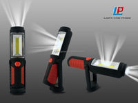 magnetic portable multifunction extendable cob led work light