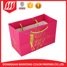 disposable Accept custom order paper carrier bag