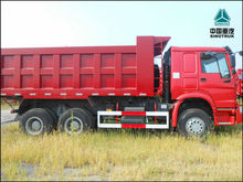 Africa hot sale 10 wheels tipper truck for sale