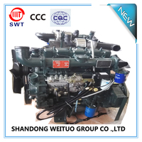 Chinese WEITUO water cooled 4 cylinder diesel engine for 60kva generator