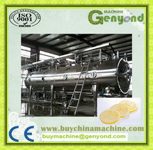 vacuum freeze dryer / lyophilizer machine for industrial foods and vegetables