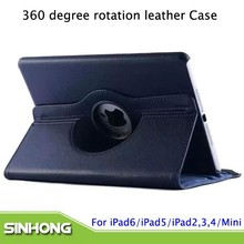New Arrival Muti Kinds 360 Degree Rotation Case For iPad Air