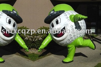 fashion inflatable model cartoon walking