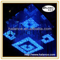 fiber optic chandelier crystals lighting for weddings