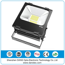 DANSTEC DLC UL(E481495) IP65 waterproof outdoor 50w flood light led rgb dmx christmas color changing outdoor led flood light