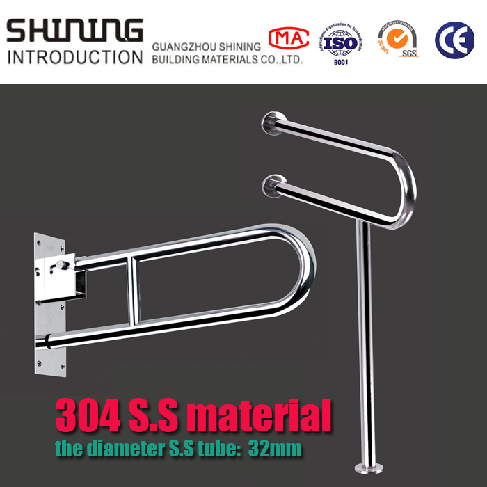 stainless steel equipment bathroom grab bar for disabled