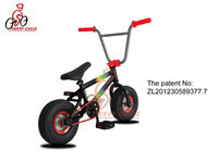 The Aluminum Frame Mini BMX Bicycle with Own Patent