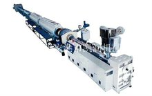 PP/PE Single Wall Corrugated Pipe Production Line