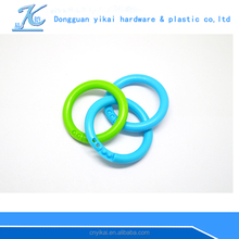 eco-friendly snap plastic rings for kids