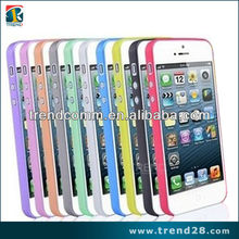 0.3mm ultrathin pc matte case for iphone5
