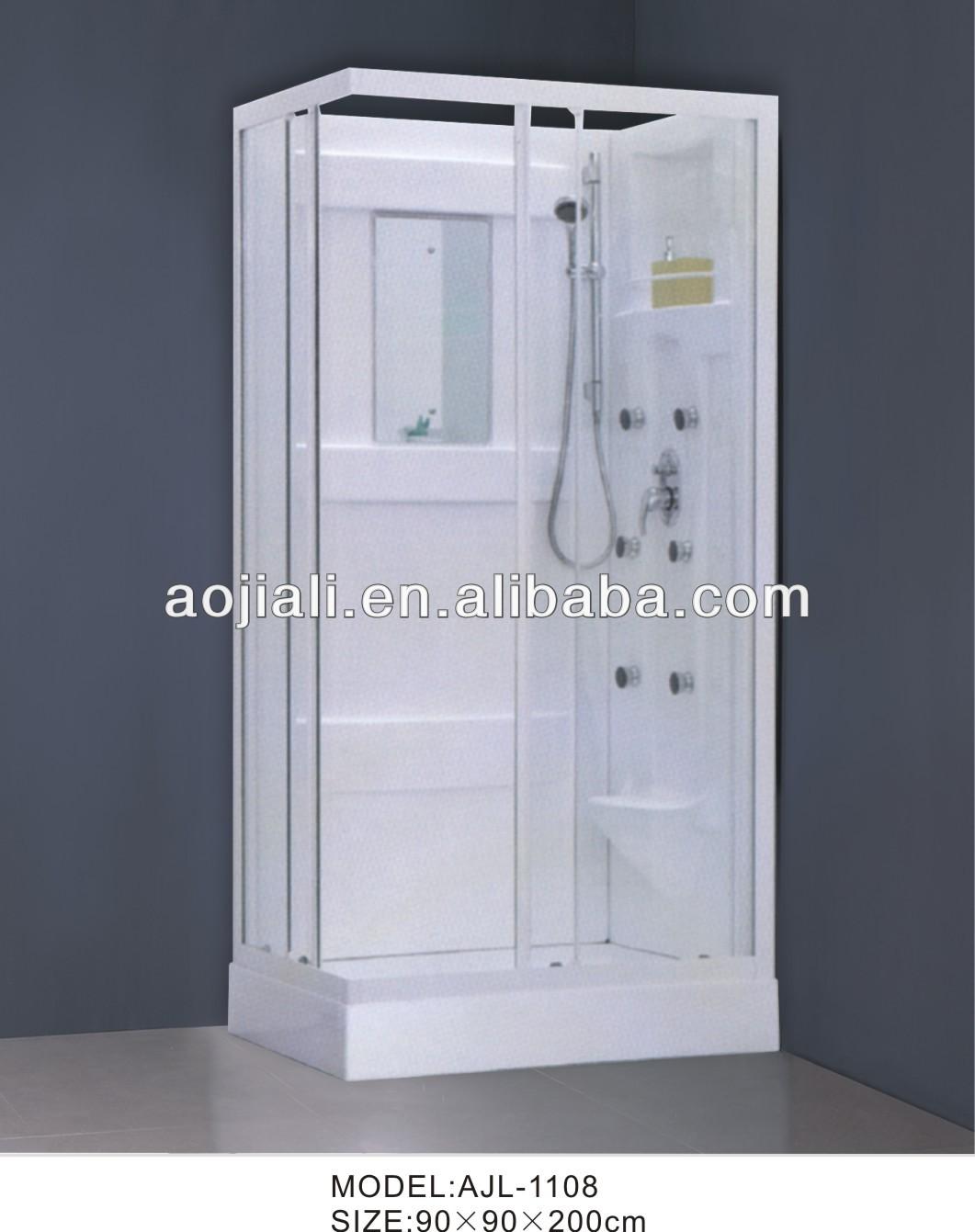 Temporary Shower Enclosures : Ajl simple portable shower enclosures cabinet