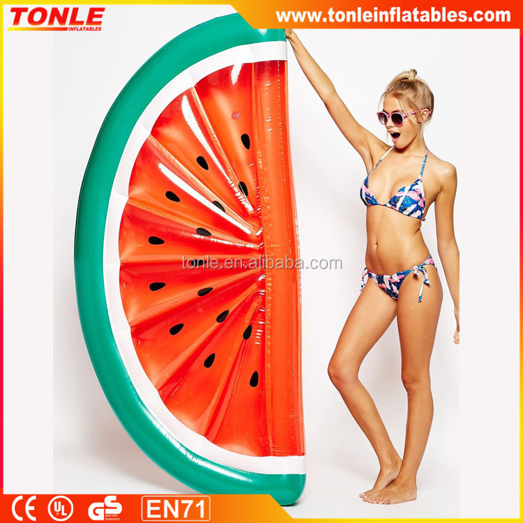 High quality inflatable watermelon float/inflatable watermelon pool toy for sale