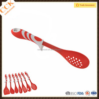 Food Grade Kitchen Tools Non-stick Hotpot Slotted Frying Spoon