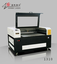 Hanma 1310 leather laser cutting machine price/laser cutter designed for cutting leather/fabric made in china