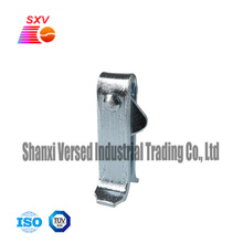 Galvanized scaffold frame snap locking pin