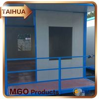 Free Chloride Fire Rated Mgso4 Magnesium Oxide Plate Mgo Panel