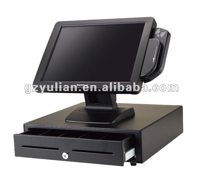 Touch screen cash register POS system/POS touch monitor