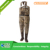 camo breathable fishing chest waders from manufacturer