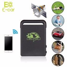MINI Car Person Pet GPS/GSM/GPRS Tracker Spy Real time Vehicle GPS tracker TK102B