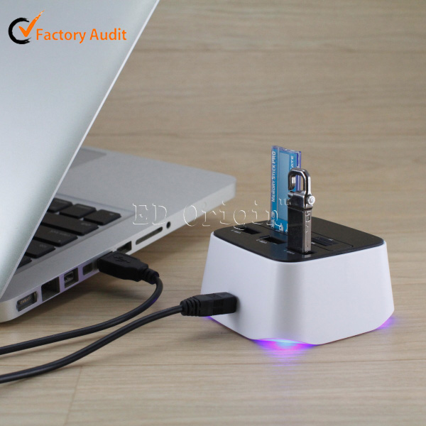 2016 Hot sale China products por hub/card usb 3.0/sd card adapter to usb