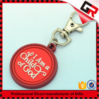 Wholesale custom 3d beautiful pvc keyring