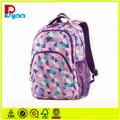 2017 Hot Sell New Design Fashional High Quality Cheap WholeSell Waterproof Polyester Girl School Backpack Bag