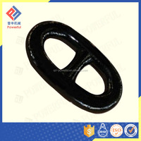 colourful studless link marine anchor chain