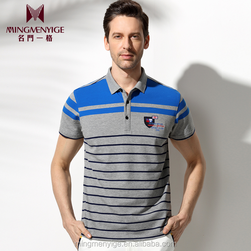 OEM 2016 Fashion Style Polo Men Cheap Plus Size Shirts Fashion Blouse
