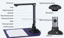 High Definition Auto Focus USB2.0 OCR Editable 5Mp 8Mp CMOS Document Camera