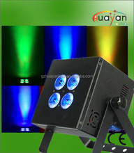 powered uplight 4*12w rgbwauv wedding lighting