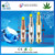 WHL best selling disposable glass tank atomizer clamshell packaging 510 ceramic coil CBD oil vape cartridge