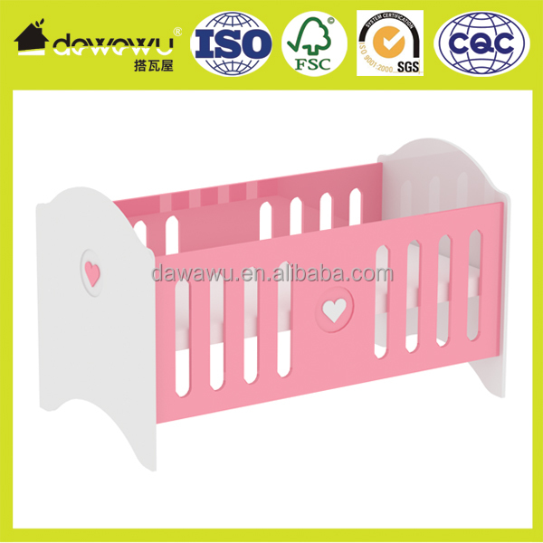 Toddler Bed Kids Girls Childrens Bedroom Furniture high gloss pink