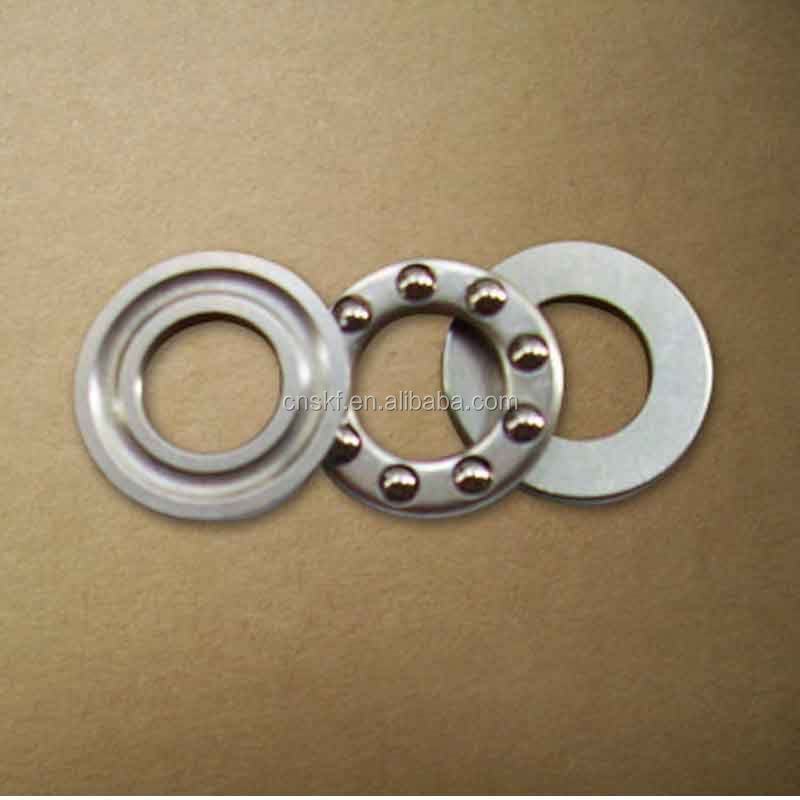 axial mini brass cage thrust ball bearing F8-16