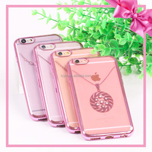 Crystal Clear Silicone Soft TPU Phone Case Transparent Back Cover For Iphone 7 7 Plus