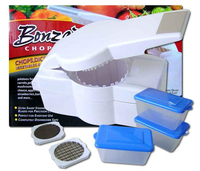 Bonzai Chopper with 3 pcs food container Chopping Onions