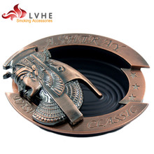 T005AM LVHE Antique Personalized Custom Cigar Ashtray