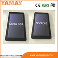 New 7inch android 5.1 os sofia quad core tablet pc with dual 3g sim card