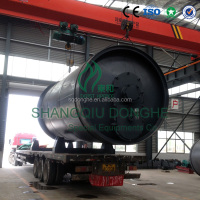 Win-win Combined Construction -- automatic scrap tires recycling pyrolysis machine