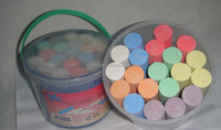High quality dustless color/white chalk for sports/climbing/gymnastic school chalk